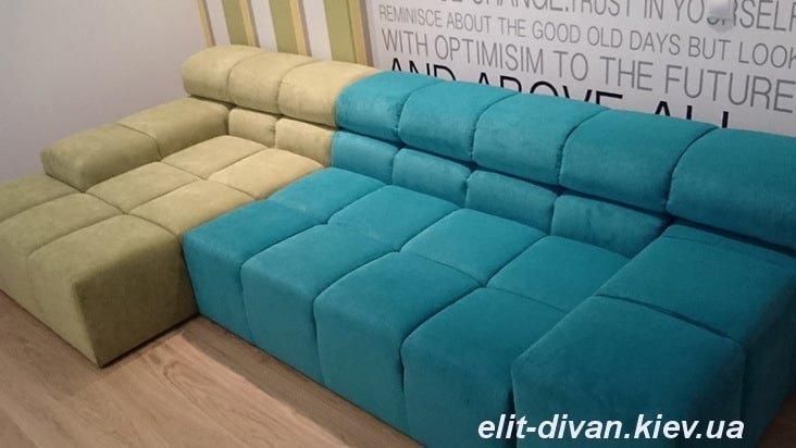 угловая модульная мягкая мебель под заказ