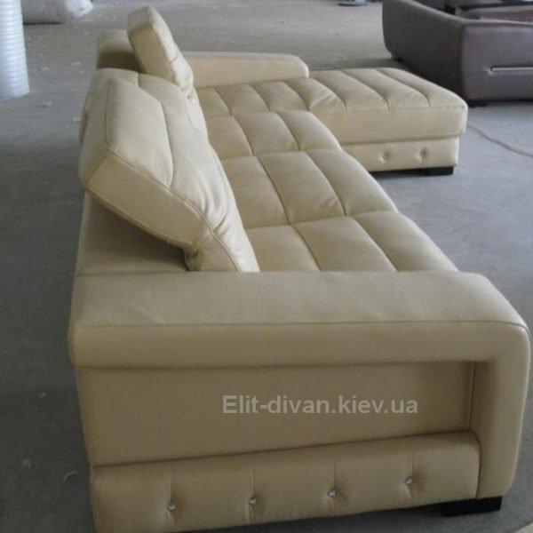 белый авторский диван