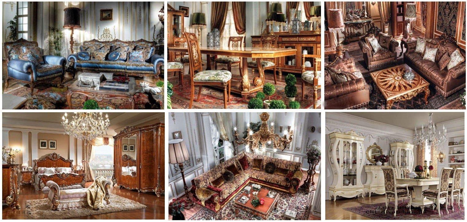 мебель в стиле ампир фото