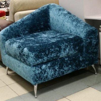 синє крісло під замовлення