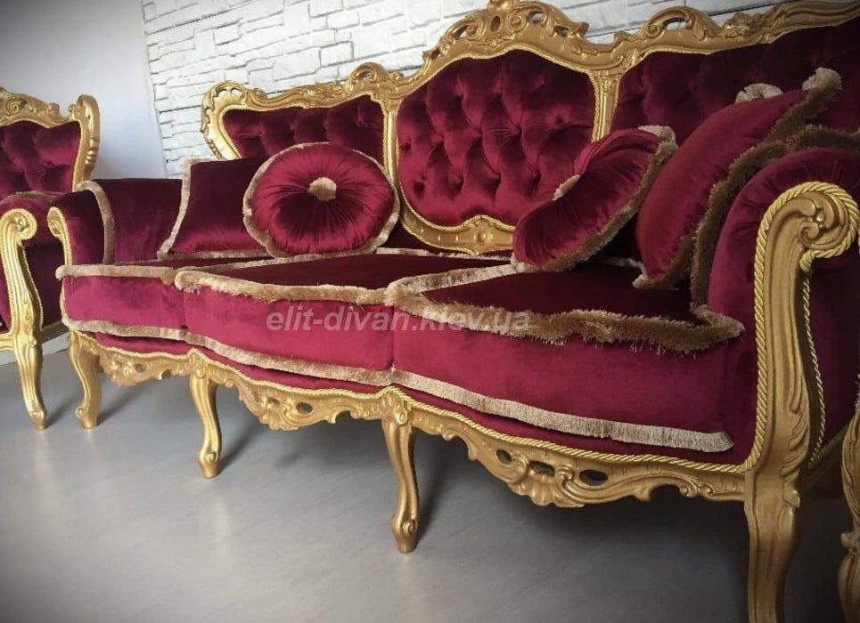 диван в стиле барокко под заказ в Киев