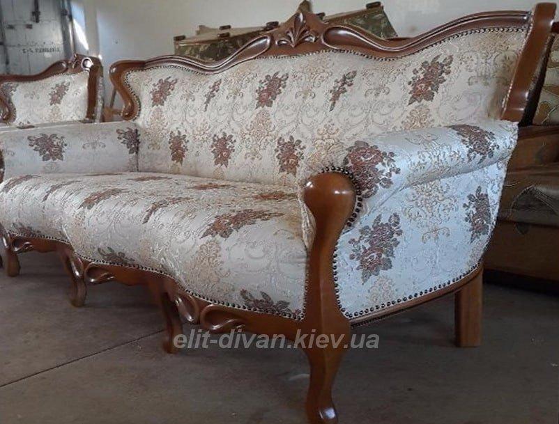 белый диван барокко
