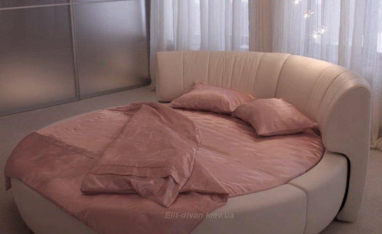 кровать круглой формы на заказ