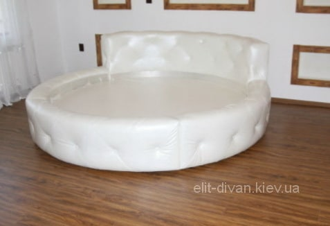 Круглая кровать на заказ