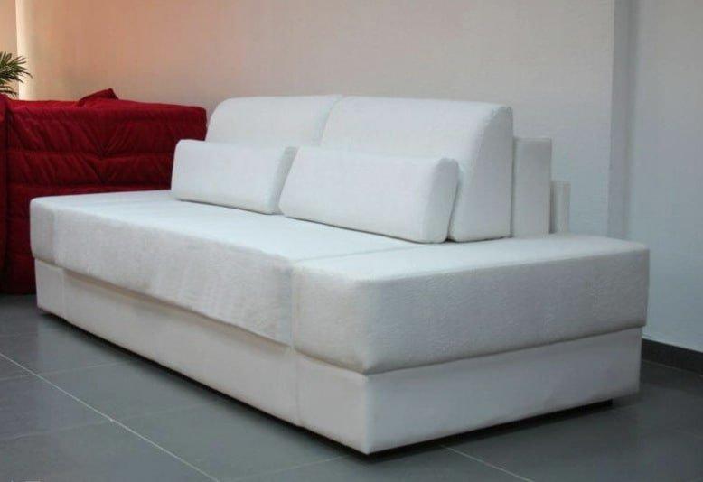 белый раскладной диван на заказ