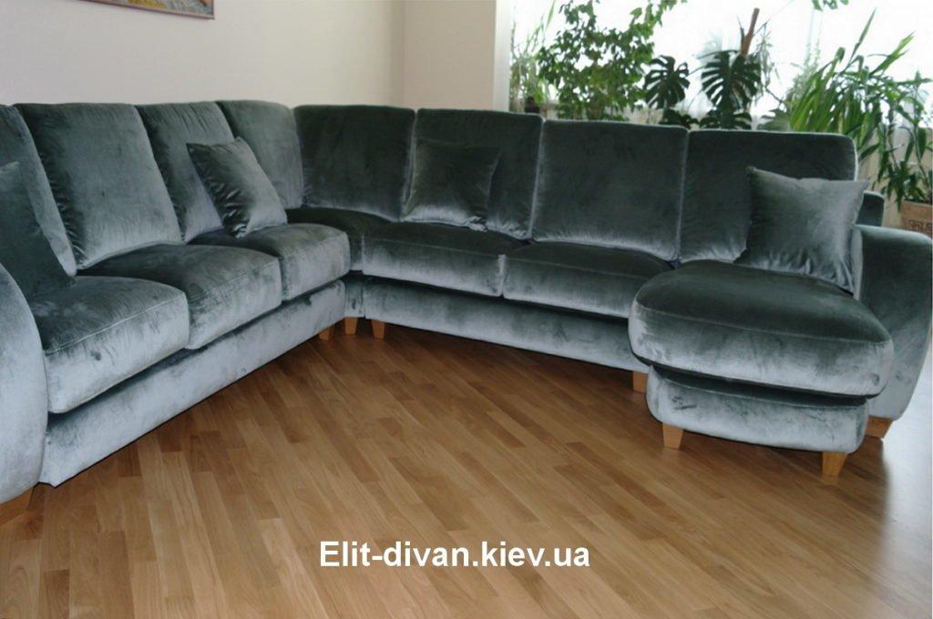 п-образный диван модульный заказать Киев