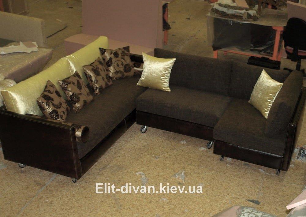 диван буквой п на заказ Киев