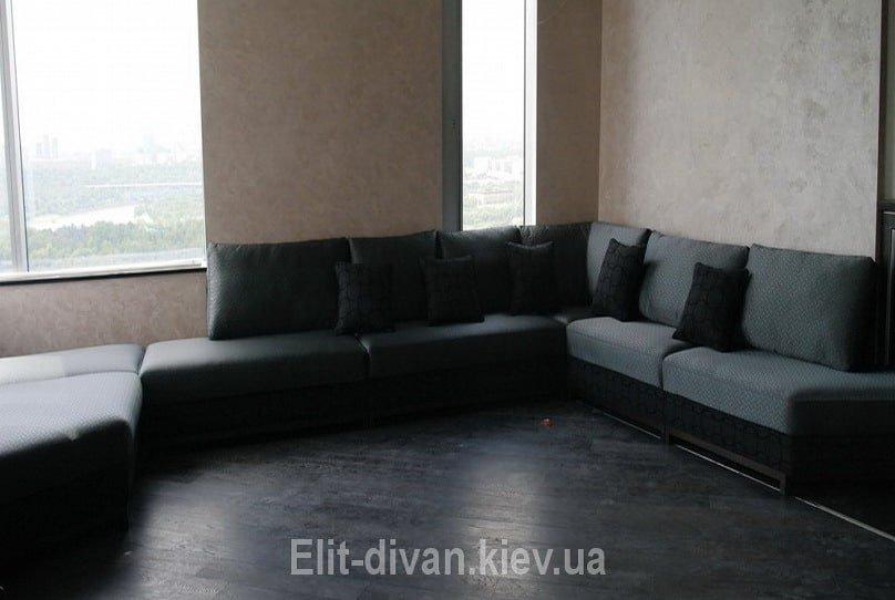 большой диван буквой п под заказ