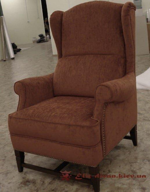 заказать кресло оранжевое