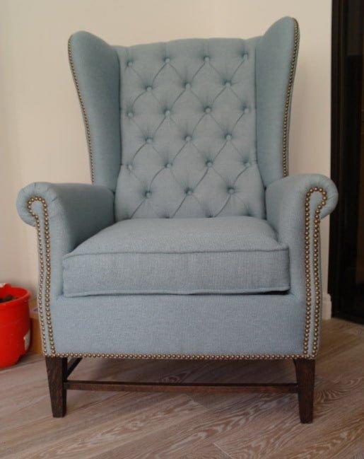 голубое кресло