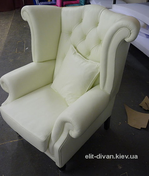 белое кресло на заказ