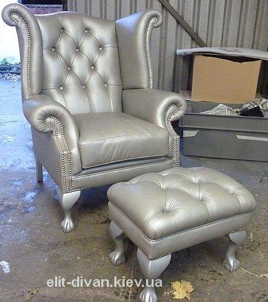 кресло и пуфик на заказ