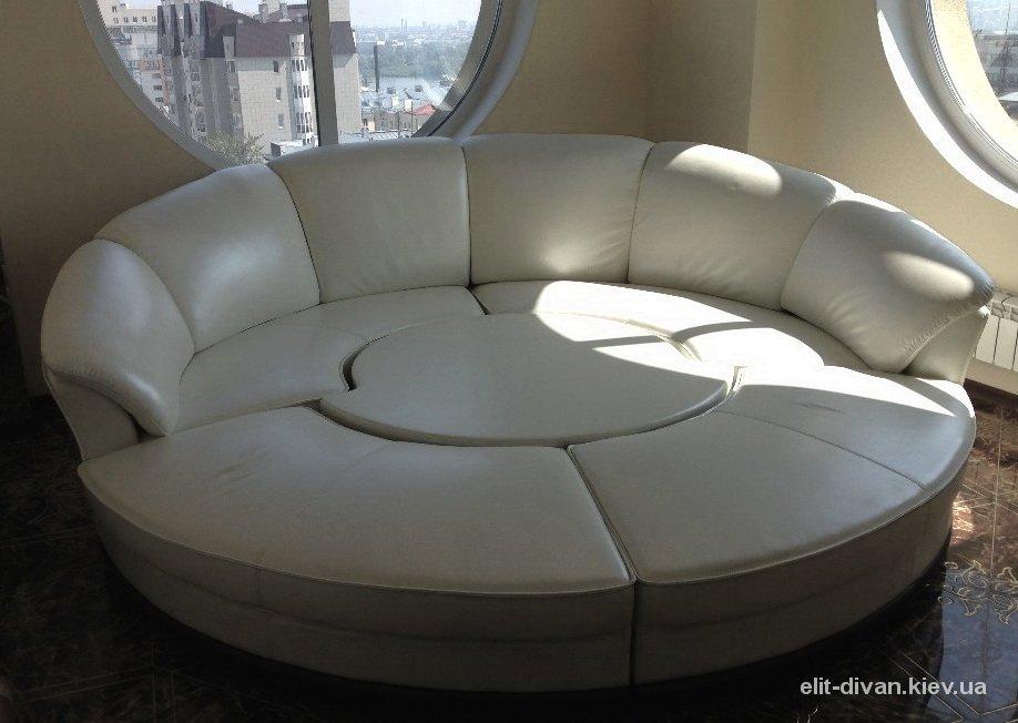 круглые кровати на заказ