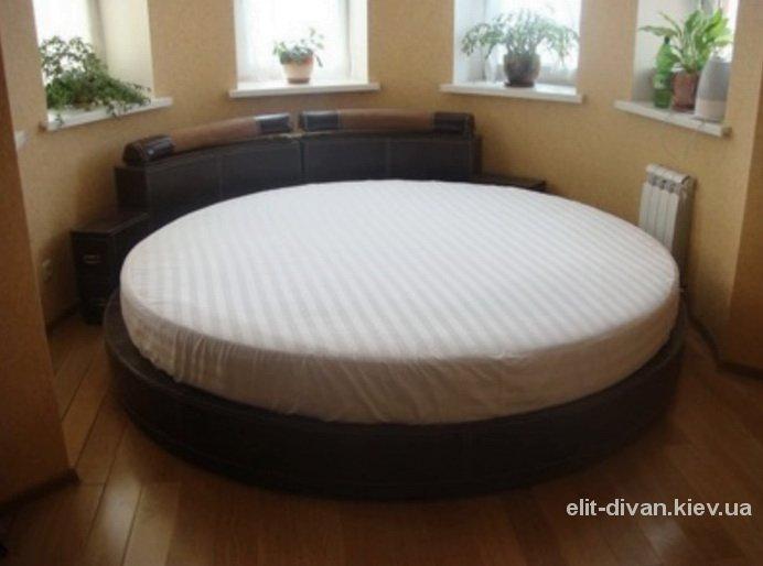 заказать круглый диван