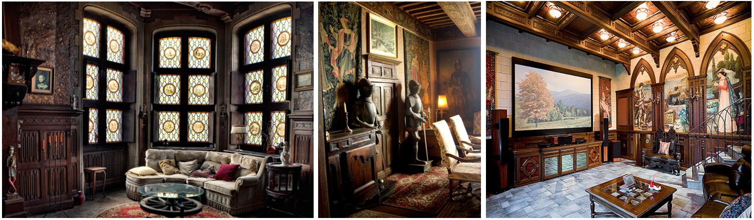 мебель средневековья
