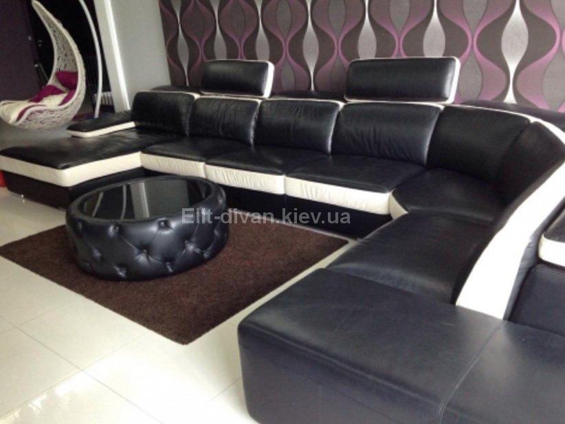 дорогой п образный диван