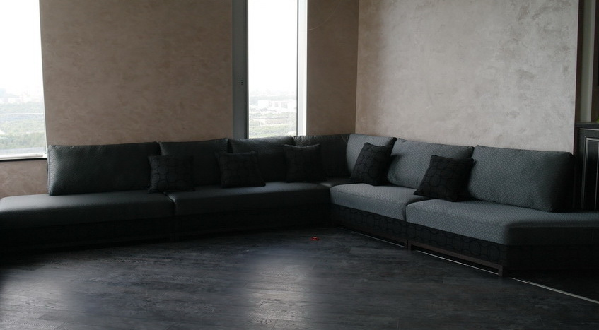 модульный диван угловой под заказ