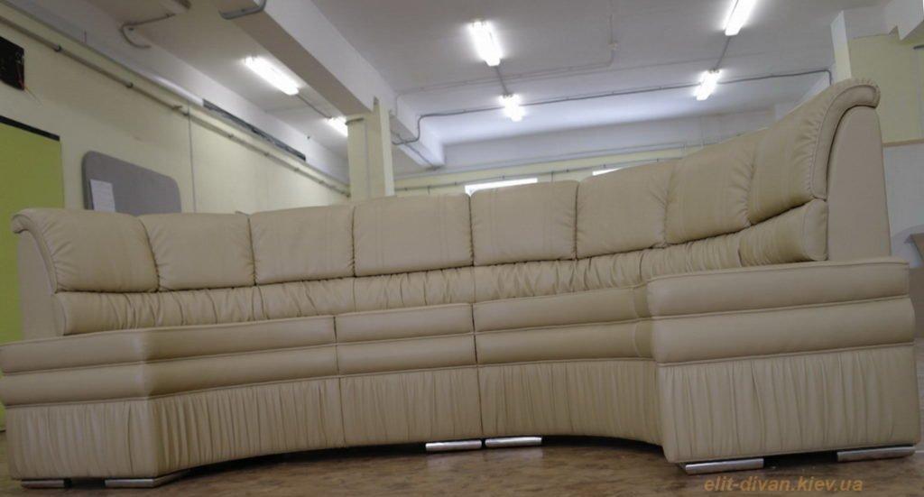 изготовление радиусного дивана на заказ