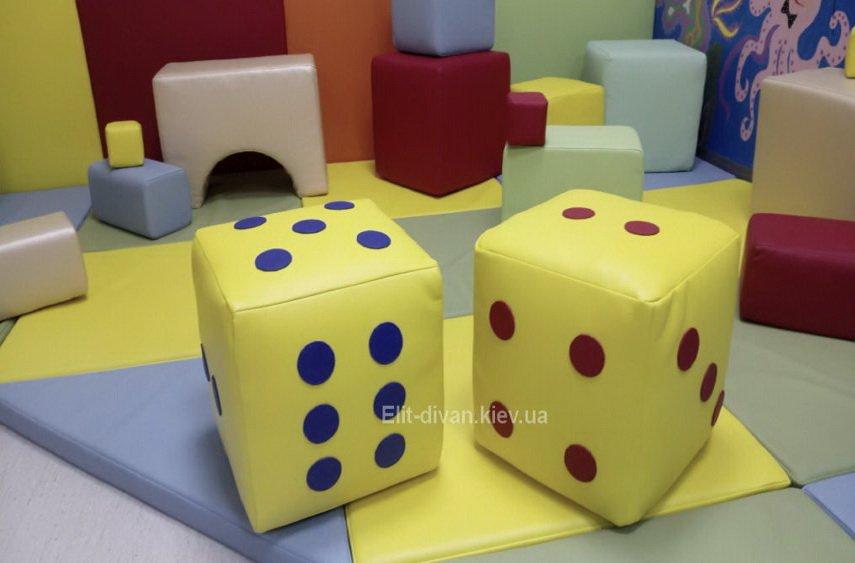 пуфики в виде кубиков на заказ