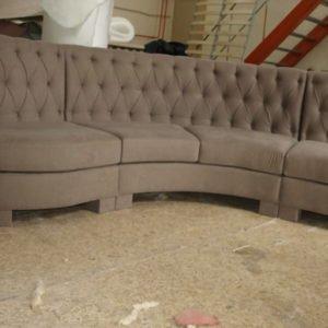радиусная мягкая мебель под заказ в Киеве
