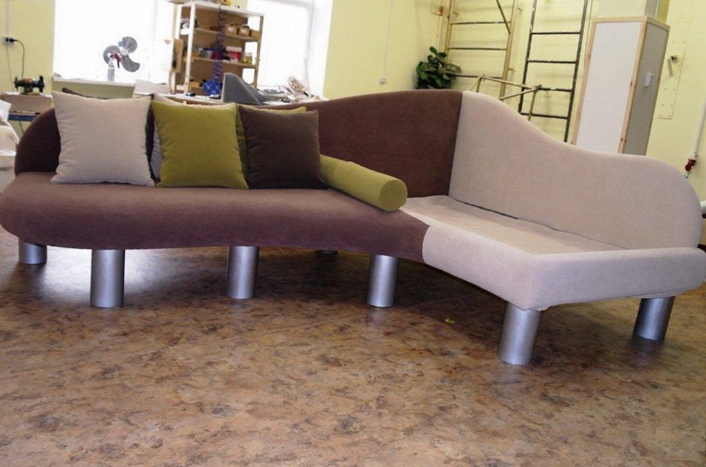 недорогой радиусный диван под заказ