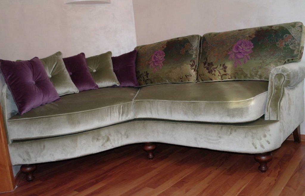 закругленный диван под заказ