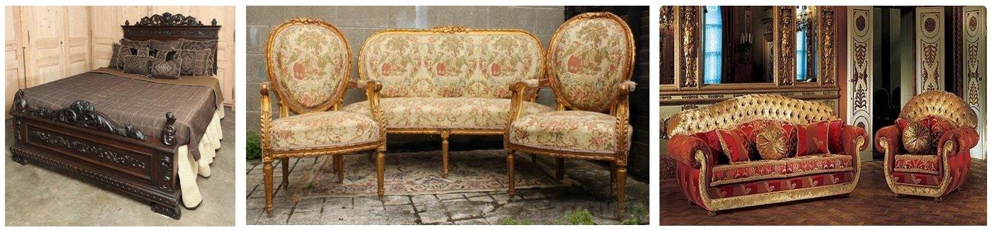 мебель в стиле ренесанс