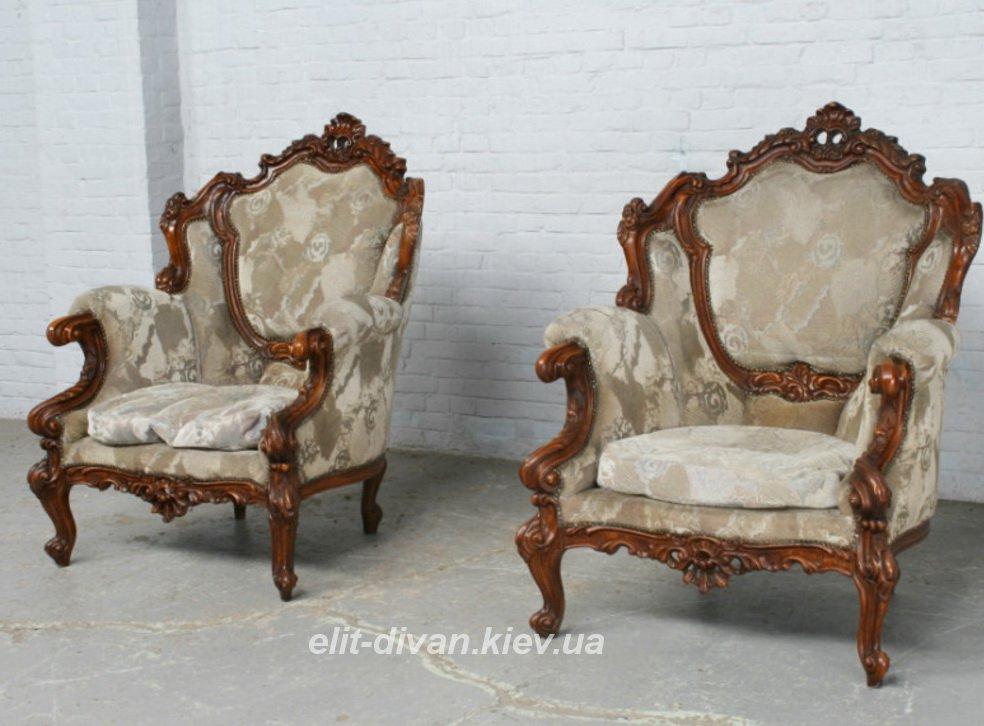 кресла в стиле роко