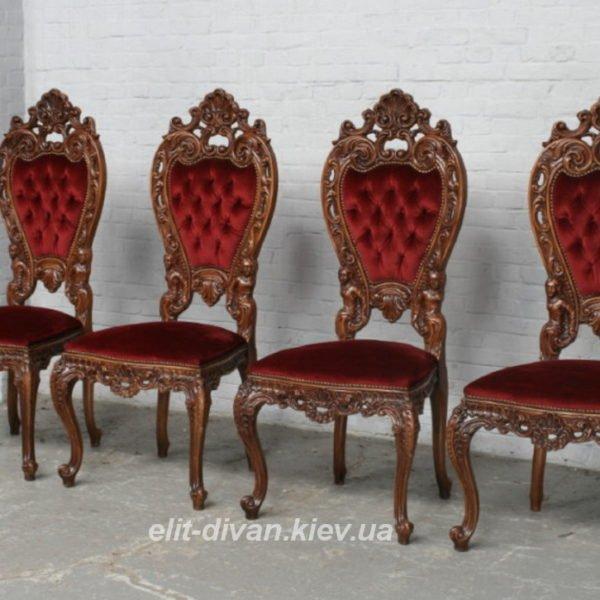 стулья в стиле рококо