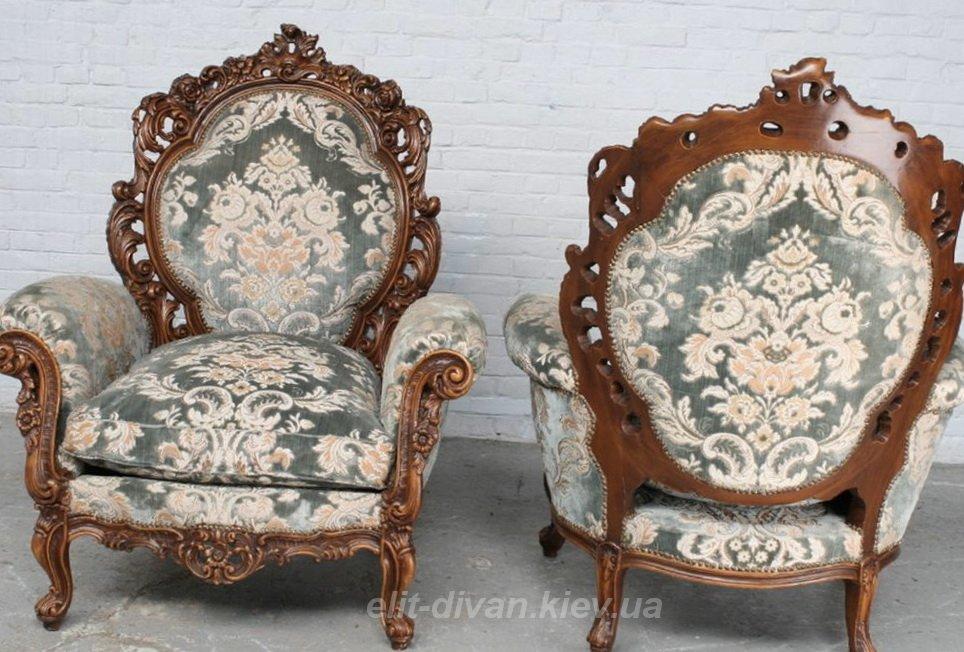 кресла эпохи рококо