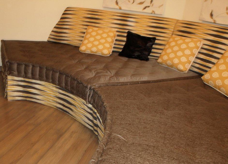 мягкая мебель полукруглая под заказ Чайка