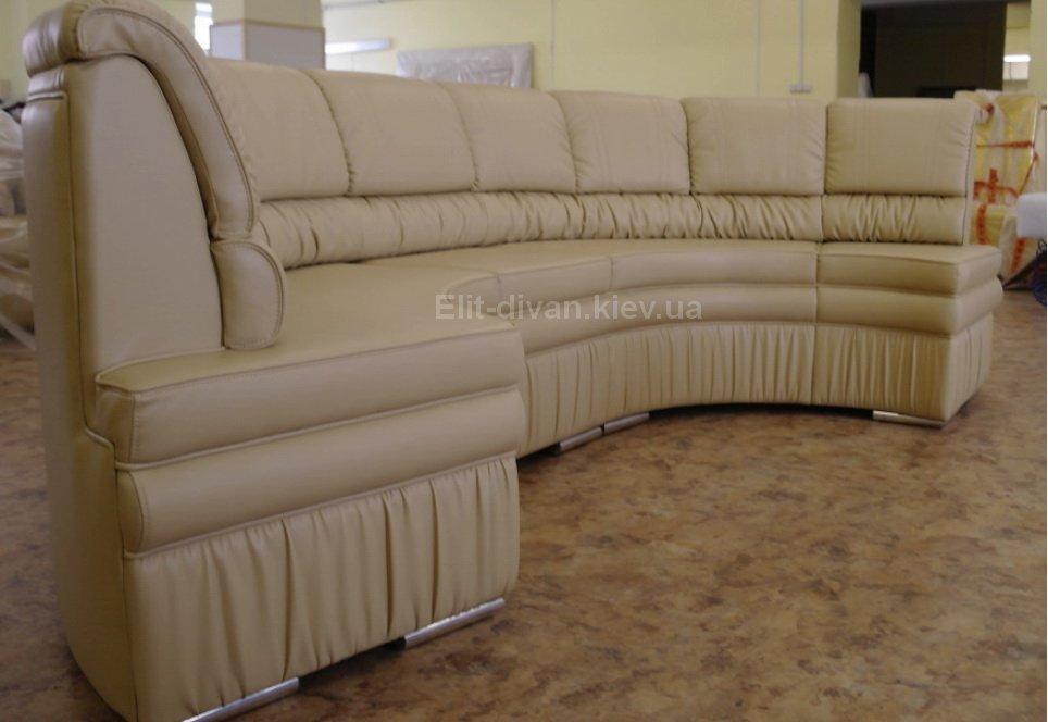 радиусная авторский диван