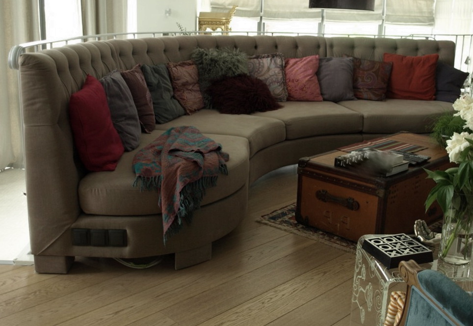 мягкая мебель полукруглая Буча