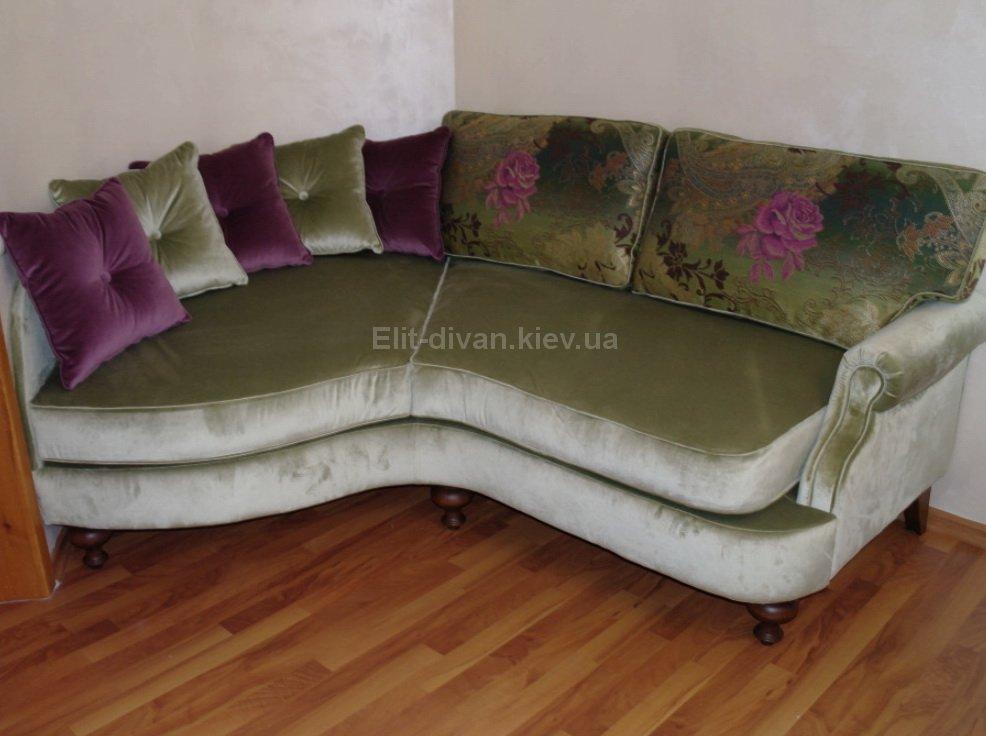авторский диван в гостиную под заказ