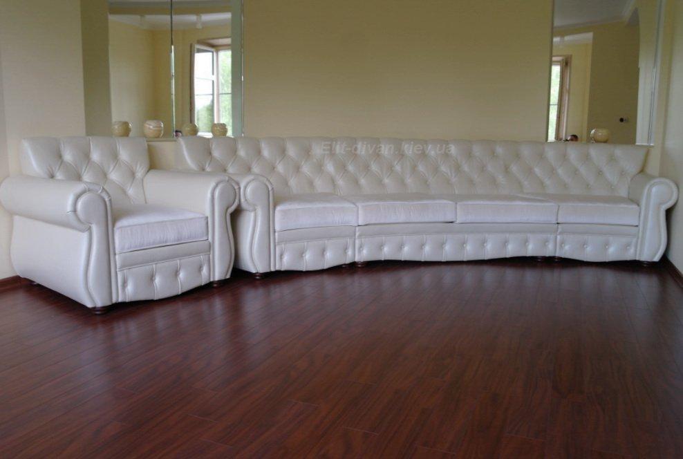 мягкая мебель полукруглая Вишневое