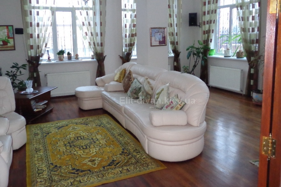 мягкая мебель полукруглая в гостиную на заказ