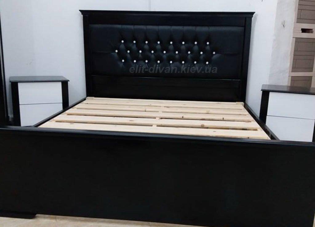 черная кровать на заказ