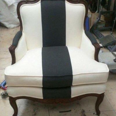кресло с полосой