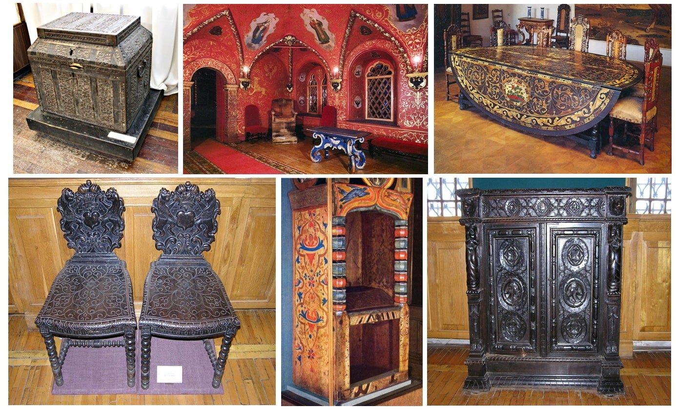 деревянная мебель в стиле русском под заказ