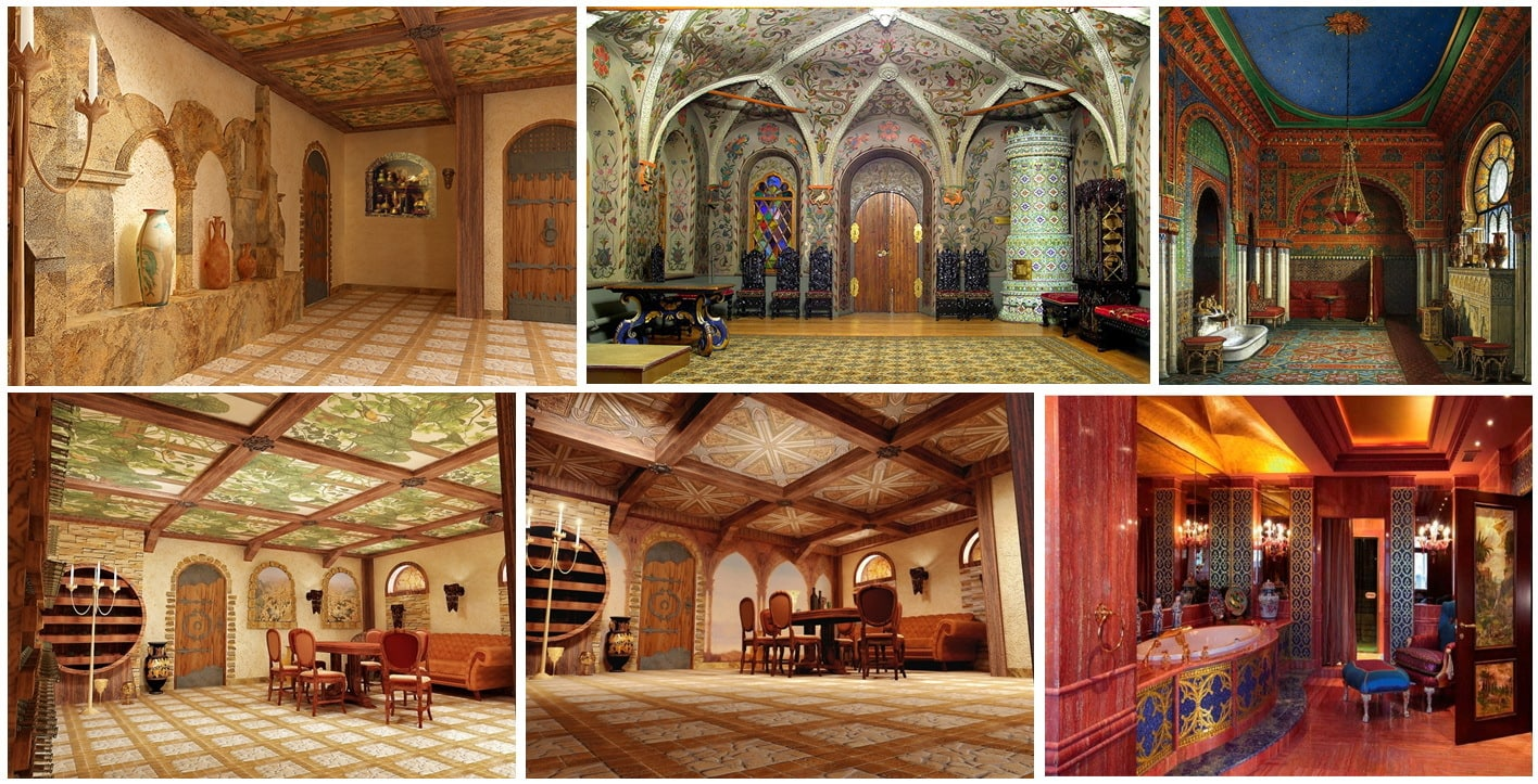 византийский стил мебели