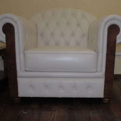 белое кресло под заказ