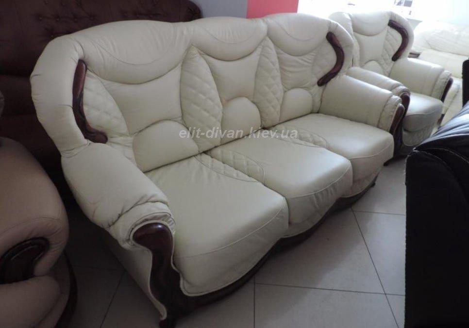 Кожаная мягкая мебель под заказ