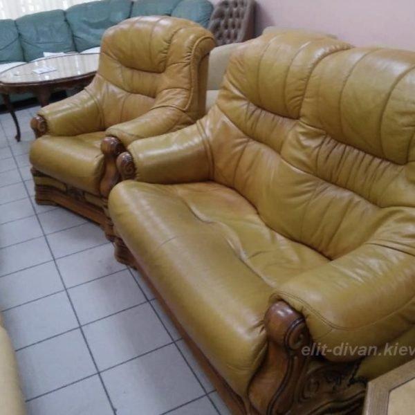 мебель из кожи нестандартная