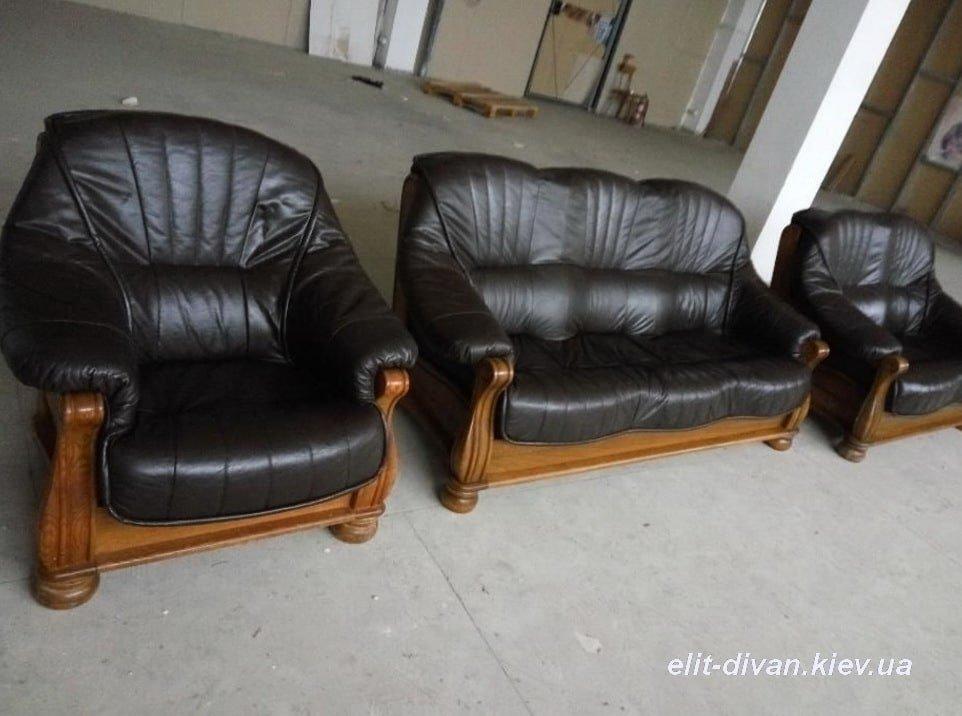 роскошная мягкая мебель из кожи