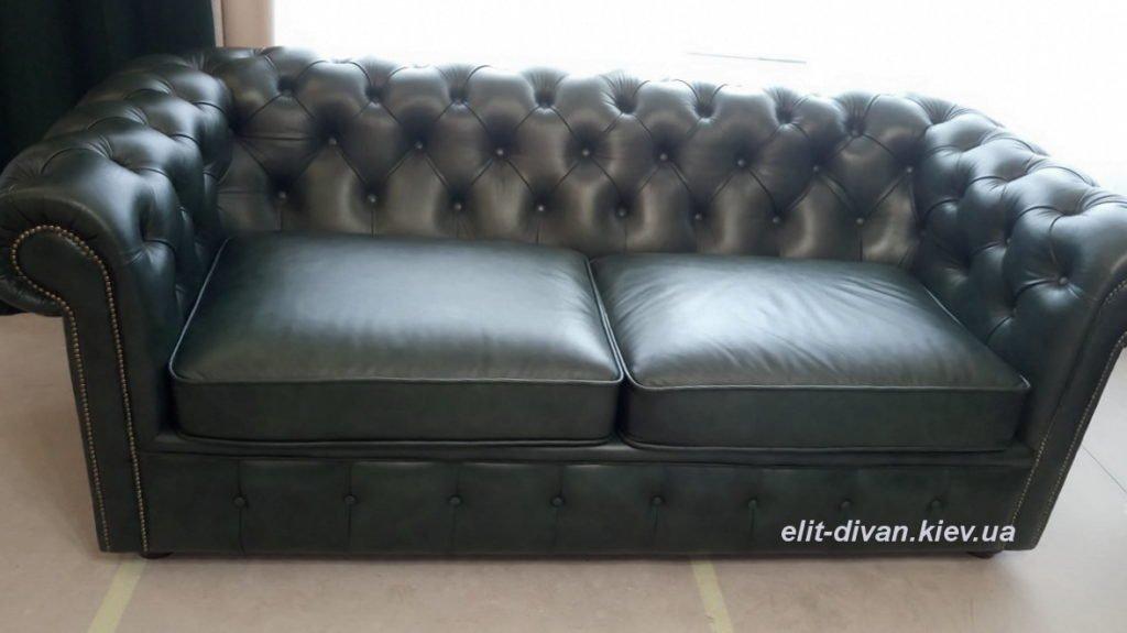 кожаная мягкая мебель честер на заказ