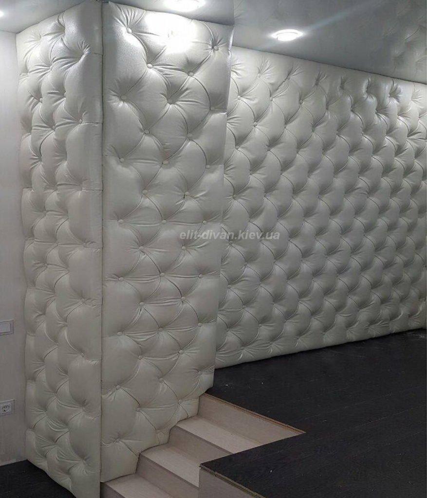 декор панели мягкие над кроватью