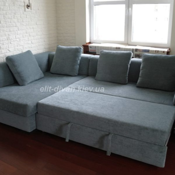 Угловые диваны со спальным местом на заказ