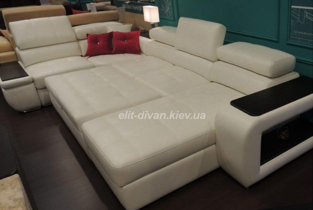 белый умный диван