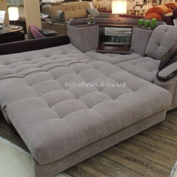 серый умный диван