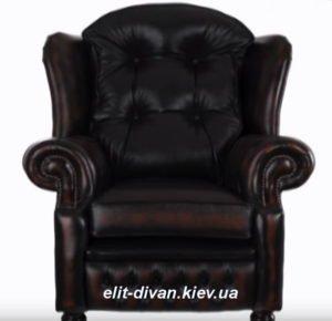 кожаное кресло изготовление